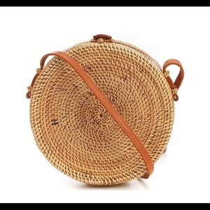 Straw Circle Crossbody from Tropical Islands